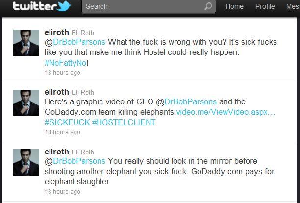 Eli Roth tweets